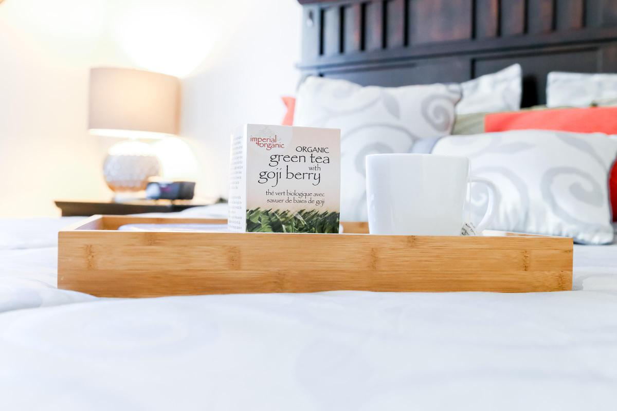 Comfortable Bedroom in Brendon Park Apartment