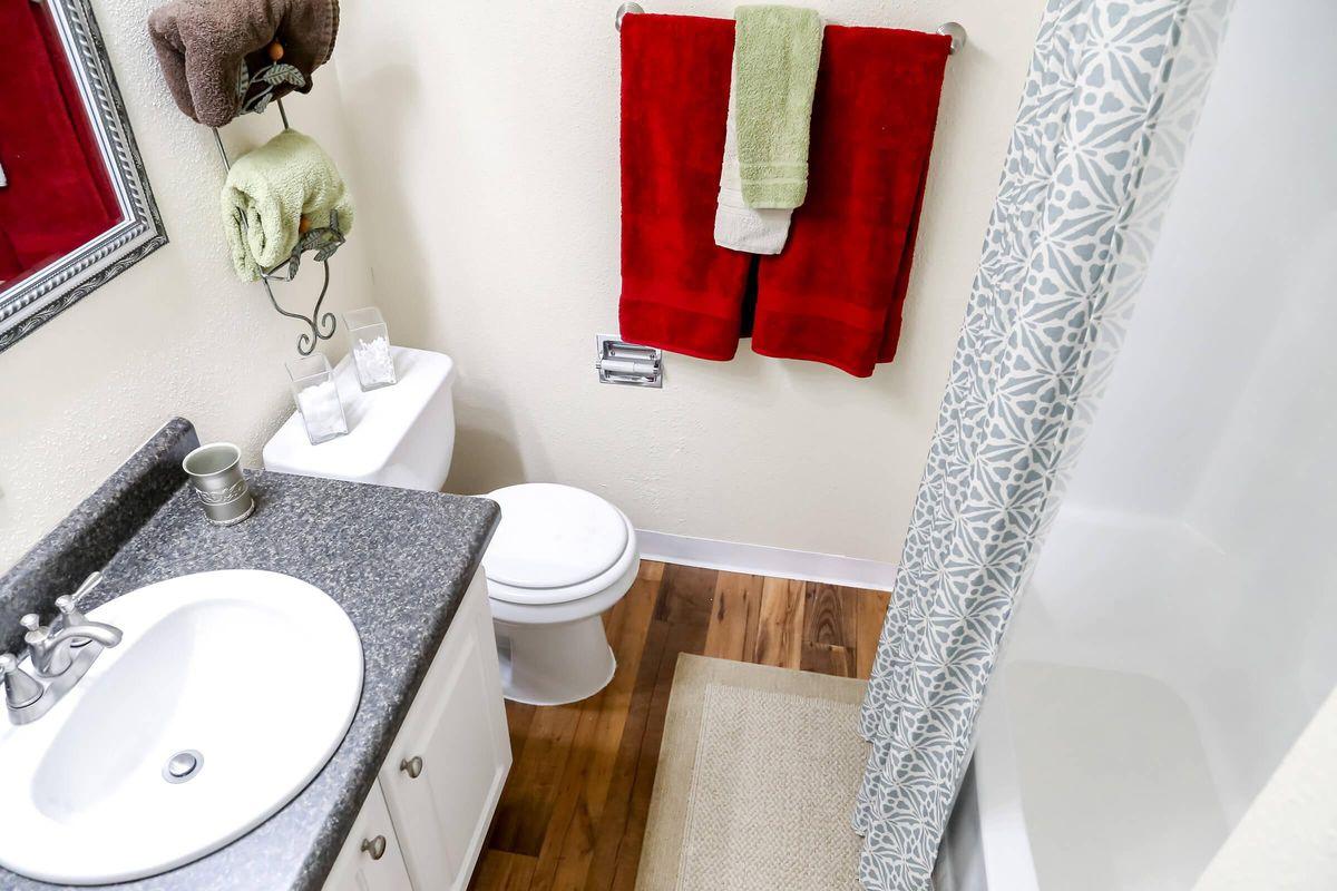 Contemporary Bathroom at Brendon Park Apartments