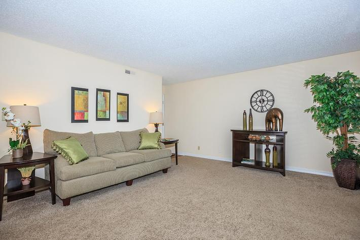Apartment Living room at Brendon Park