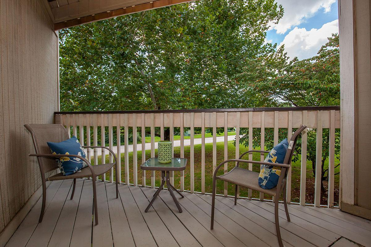 Balcony or Patio at Brendon Park Apartments in Knoxville, TN