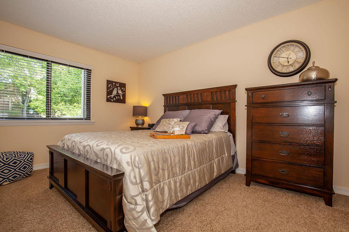 Plush Carpeted Bedrooms