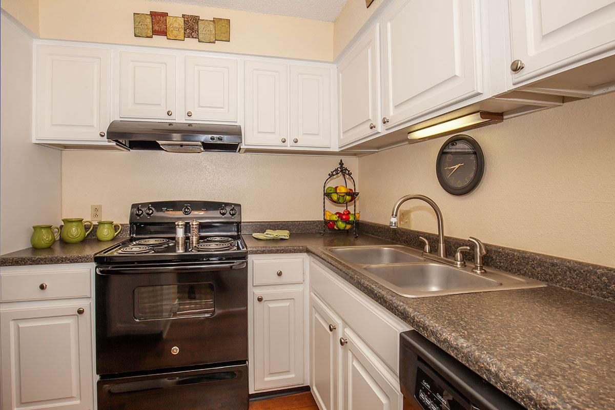 Well-equipped kitchens at Brendon Park Apartments
