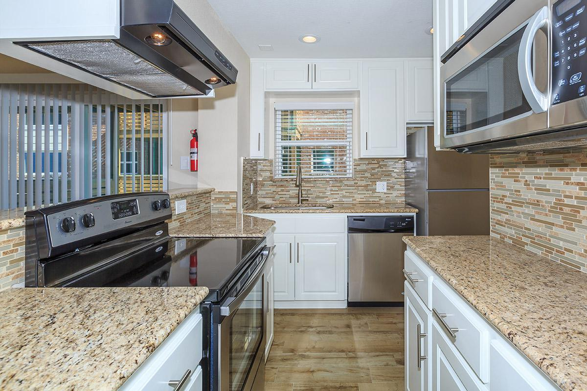 GOURMET KITCHENS AT DOMINION AT OAK FOREST APARTMENTS