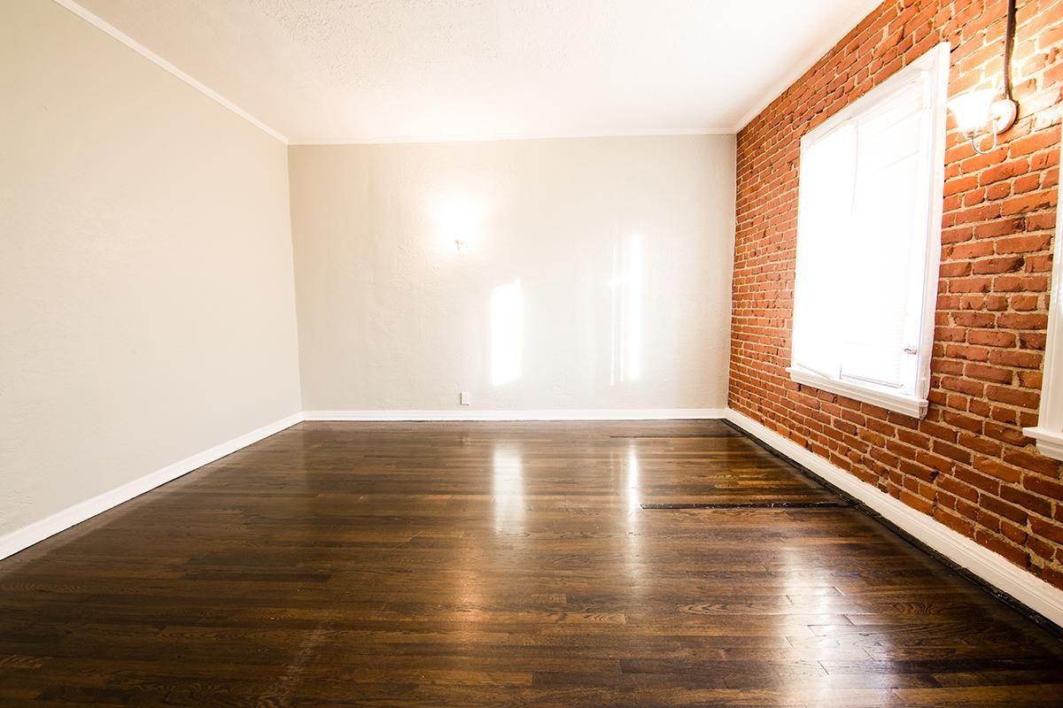 Hardwood flooring at Ancelle