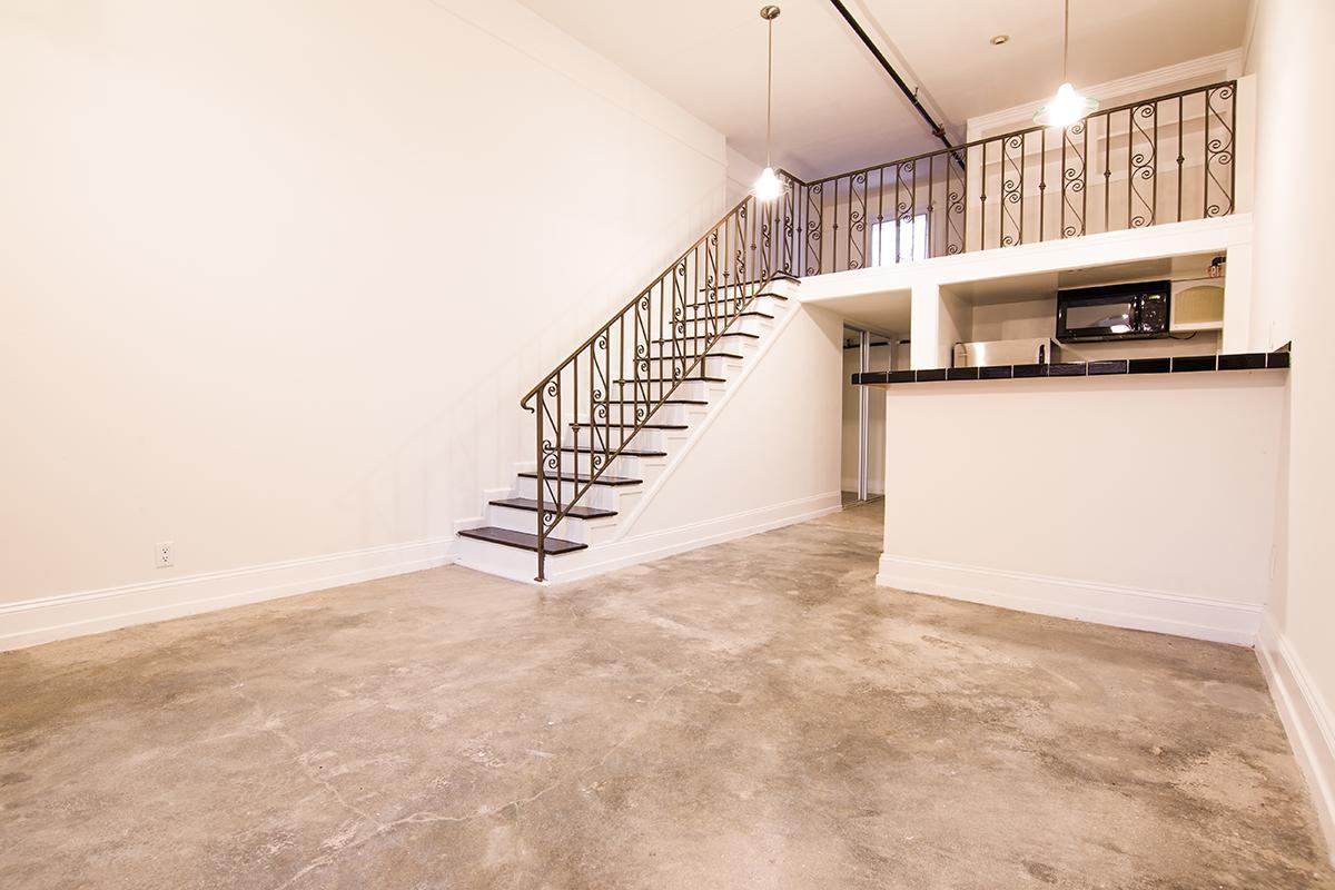 Open floor plan at Ancelle in Los Angeles, CA