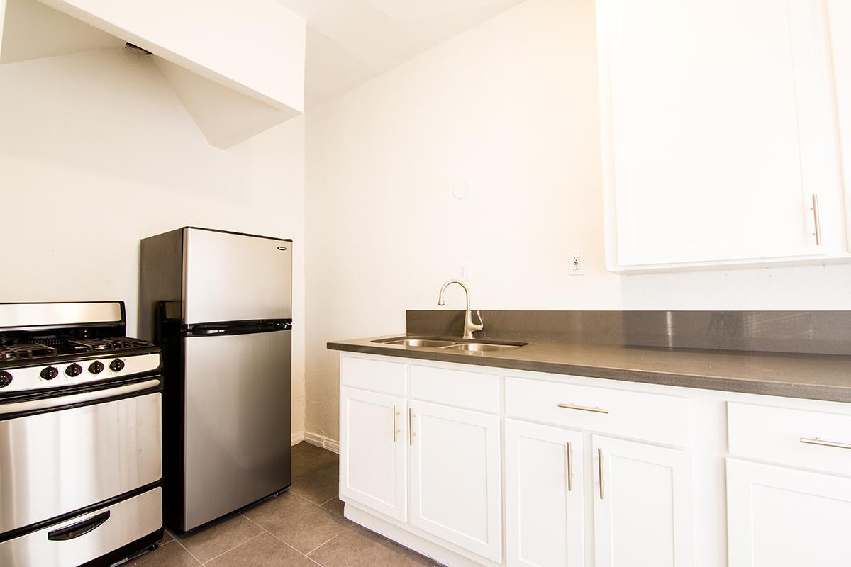 Stainless steel appliances at Ancelle in Los Angeles, CA