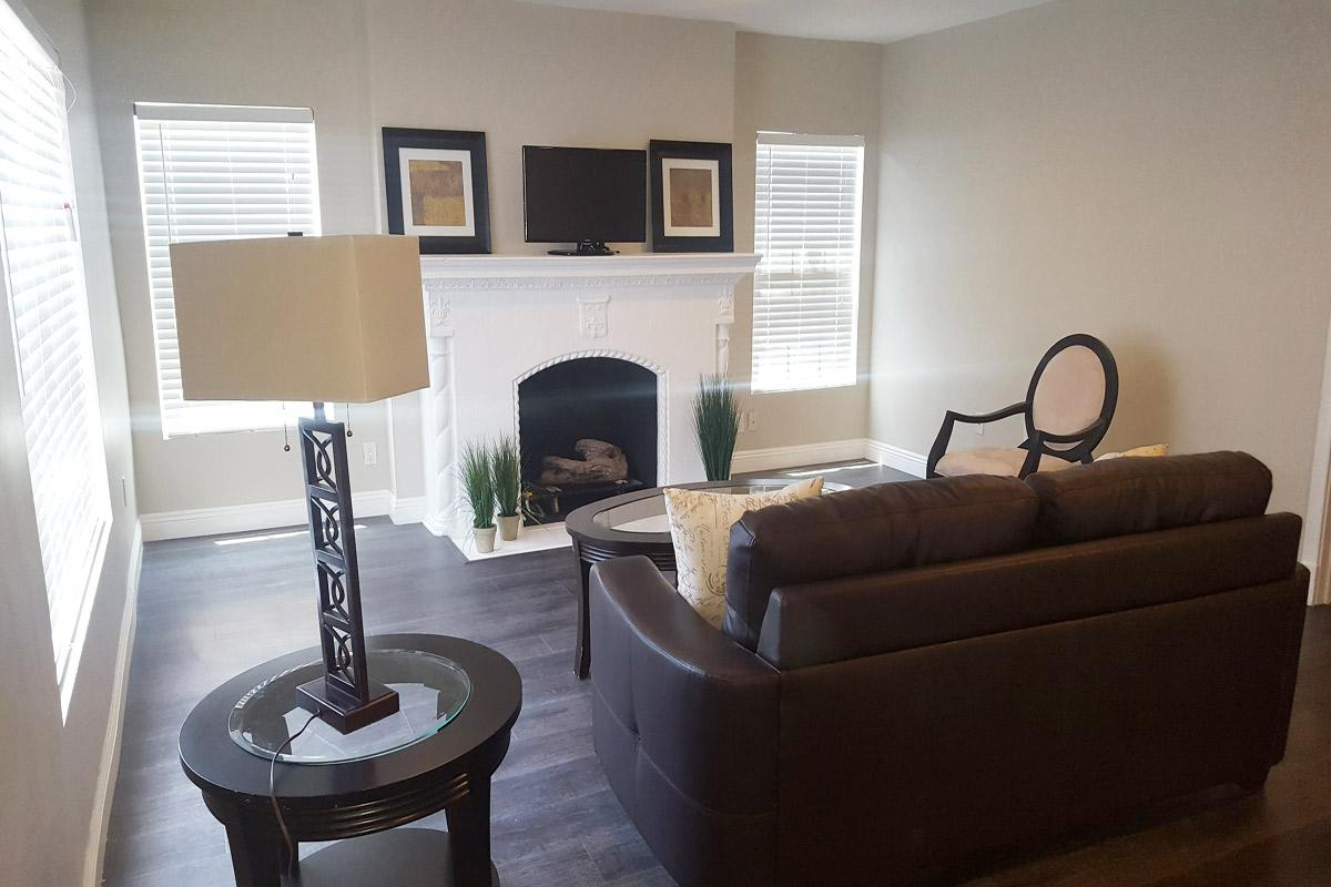 Living room at Ancelle