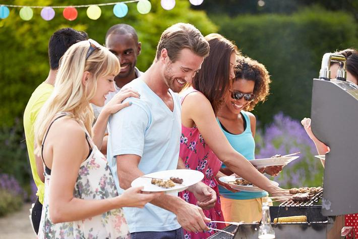 Prepare a meal for friends and family at The Townhomes at Beau Rivage in Wilmington, NC.