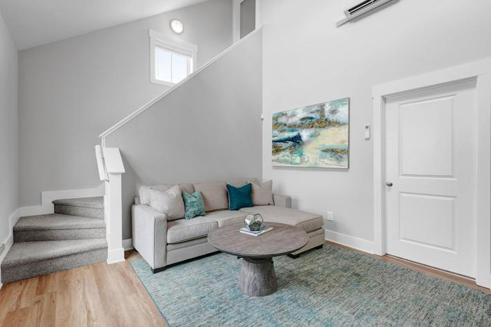 Spacious floor plans at The Townhomes at Beau Rivage in Wilmington, North Carolina.