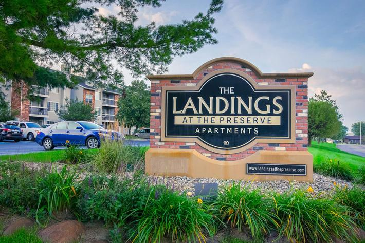 Landings at the Preserve Battle Creek MI - Exterior Sign 1.jpg