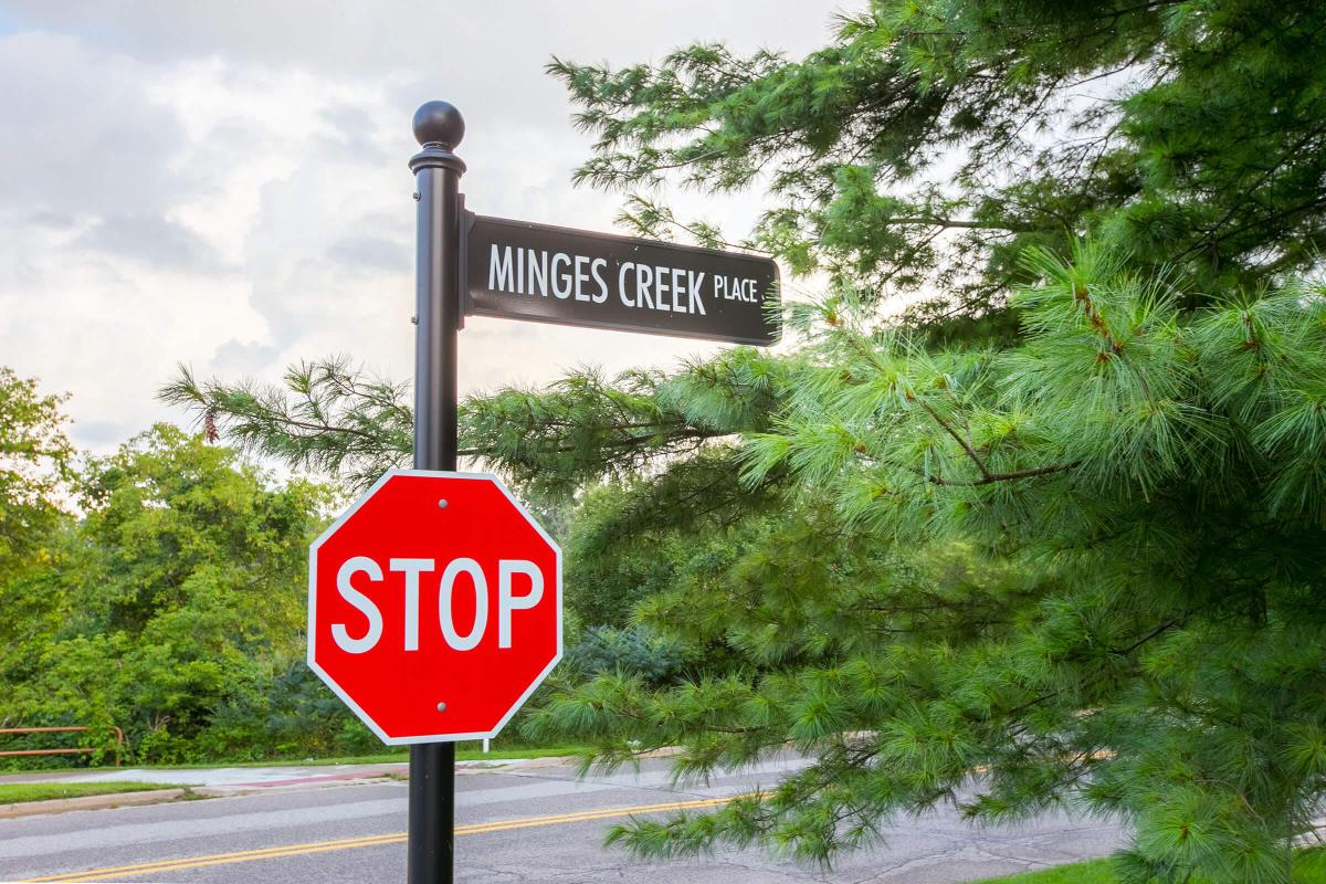 Landings at the Preserve Battle Creek MI - Street Sign.jpg