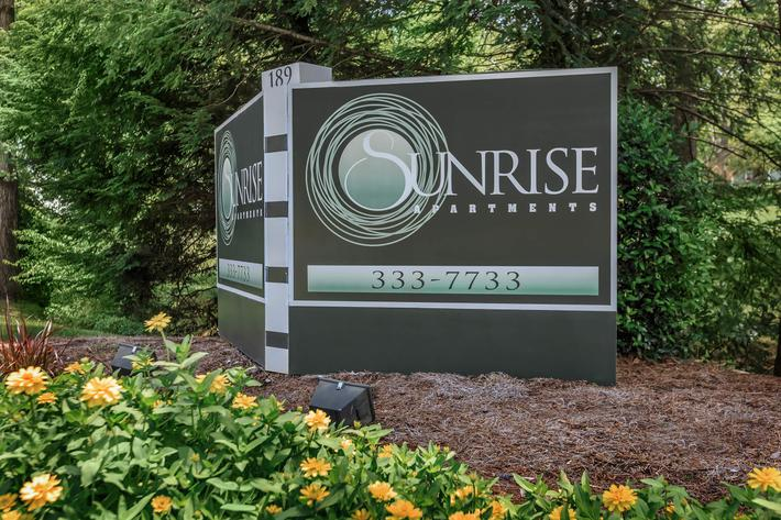 call Sunrise Apartments in Nashville, Tennessee your new home