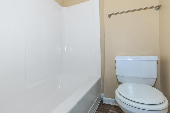 Bathroom at Summit Upgrade in Sunrise Apartments in Nashville, TN