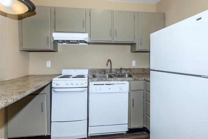 Kitchen in Summit Upgrade at Sunrise Apartments in Nashville, TN