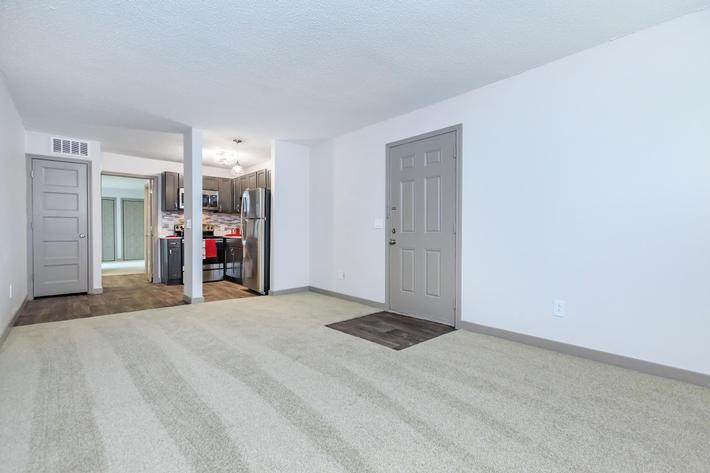 open floor plan at Sunrise Apartments in Nashville, Tennessee