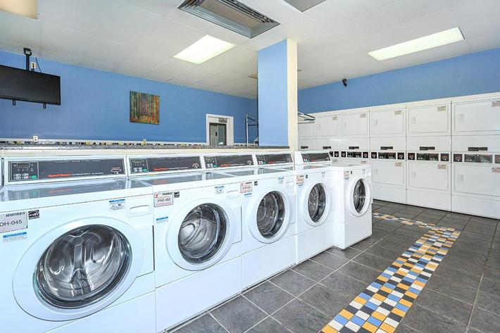 Laundry Facility at Trilogy Apartments in Saint Louis Missouri