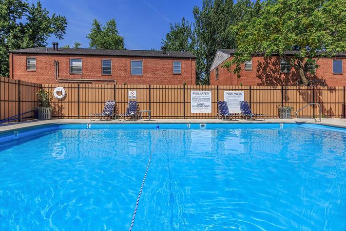 Swimming Pool at Trilogy Apartments