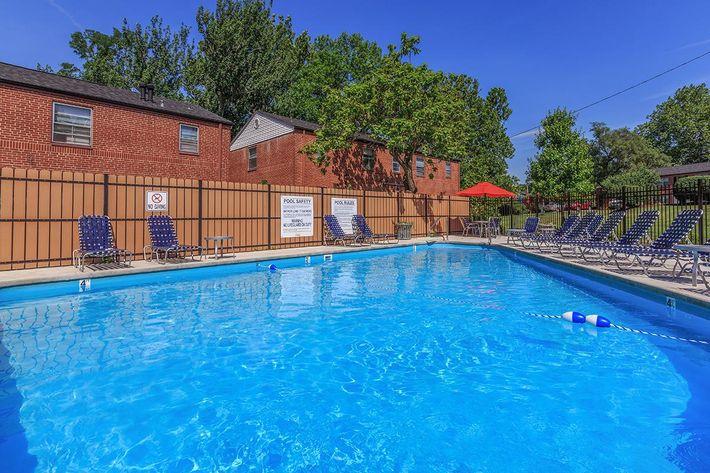 Swimming Pool at Trilogy Apartments in Saint Louis Missouri