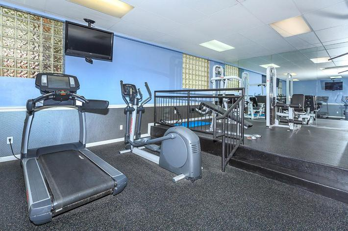Trilogy Apartments State-of-the-art Fitness Center
