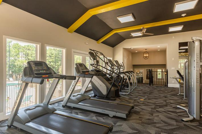 Fitness Center at Madison Landing at Research Park Apartments in Madison, AL