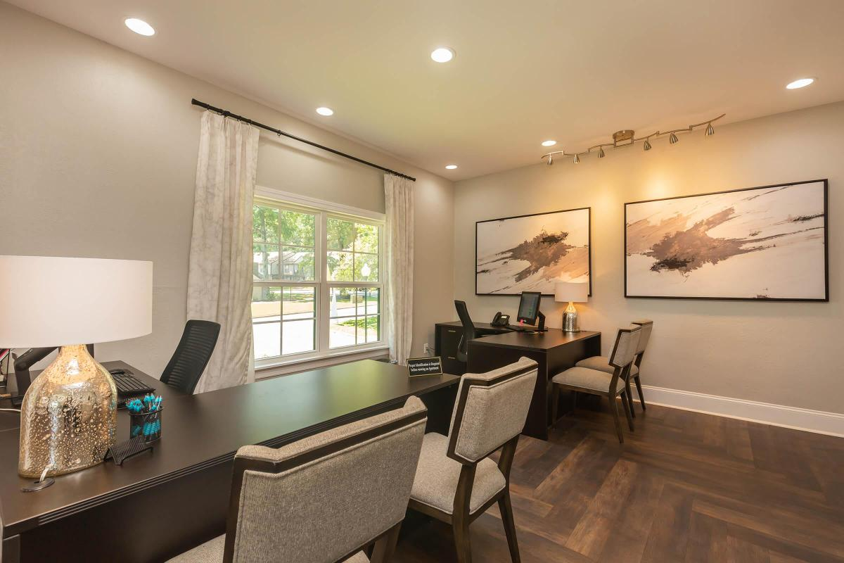 Leasing Office Here at Madison Landing at Research Park Apartments in Madison, AL
