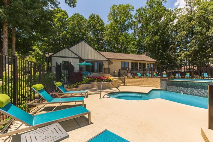 Soak Up Some Rays Here at Madison Landing at Research Park Apartments in Madison, AL