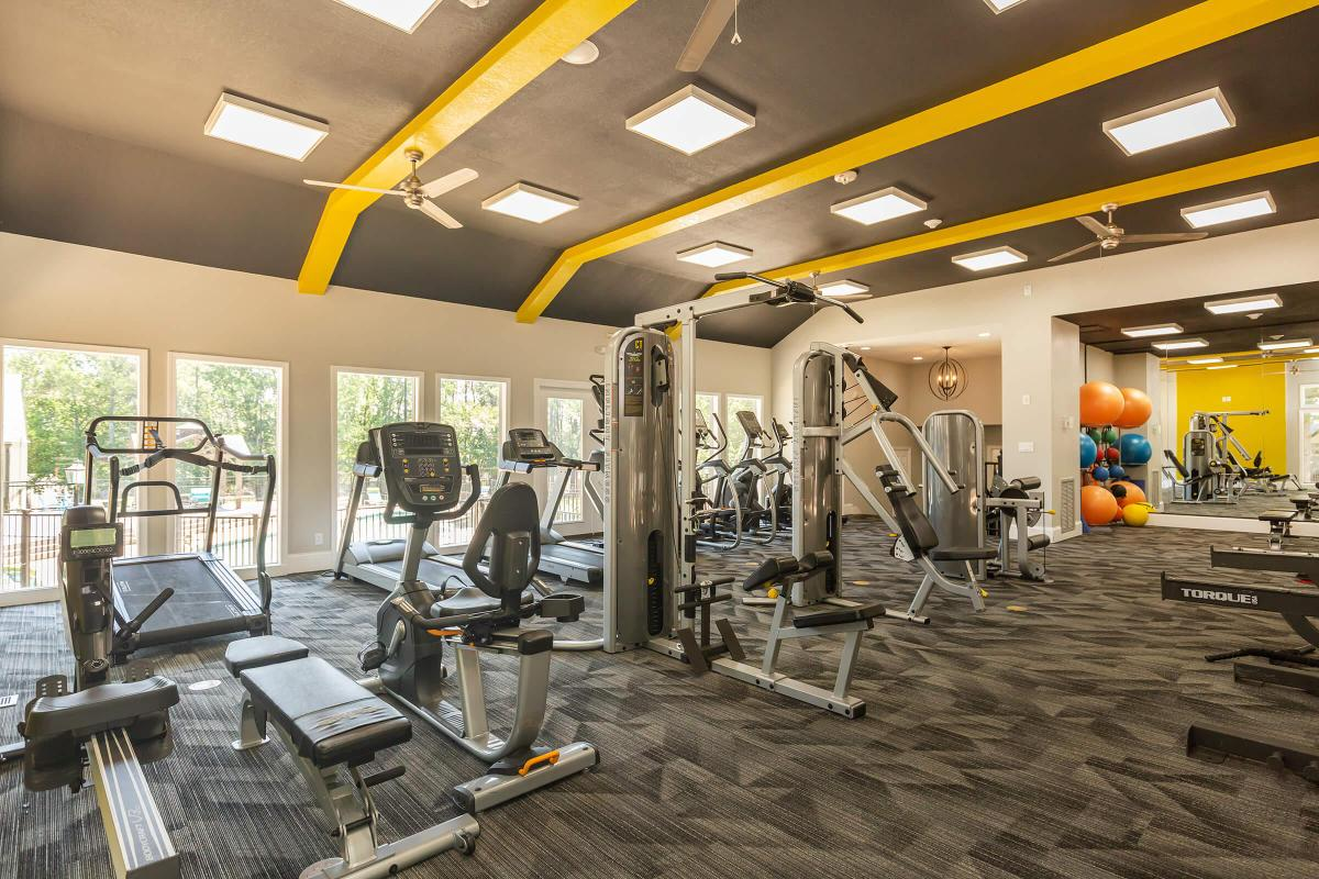 Staying in Shape is Easy at Madison Landing at Research Park Apartments in Madison, AL