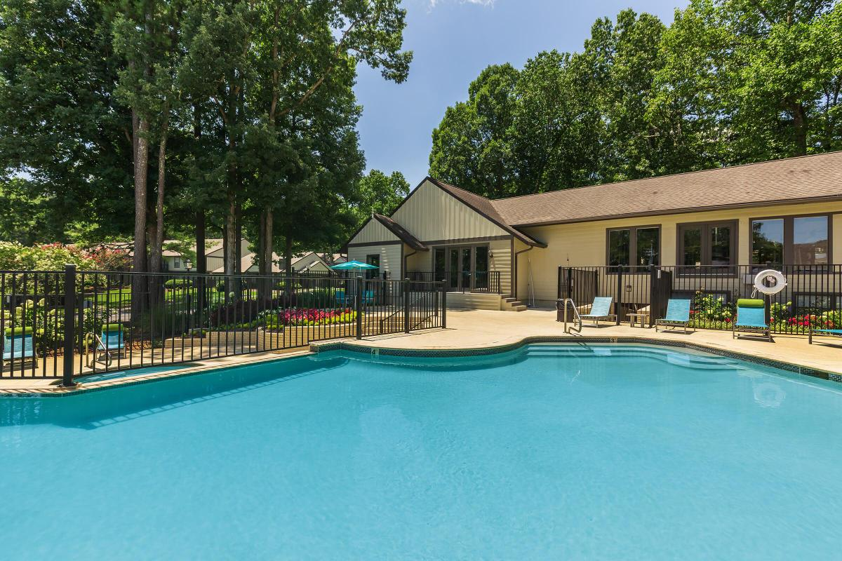 Swim Some Laps at Madison Landing at Research Park Apartments in Madison, AL