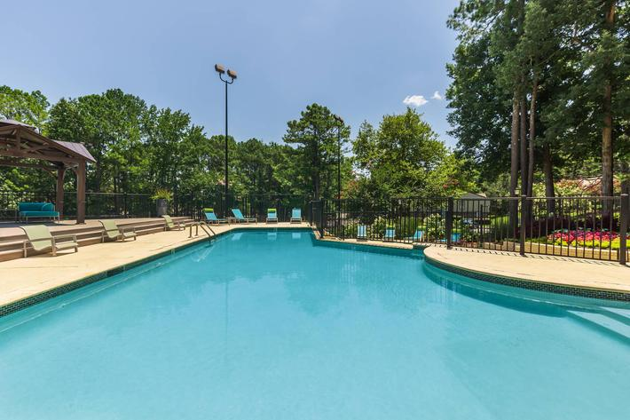 Swim Some Laps Here at Madison Landing at Research Park Apartments in Madison, AL