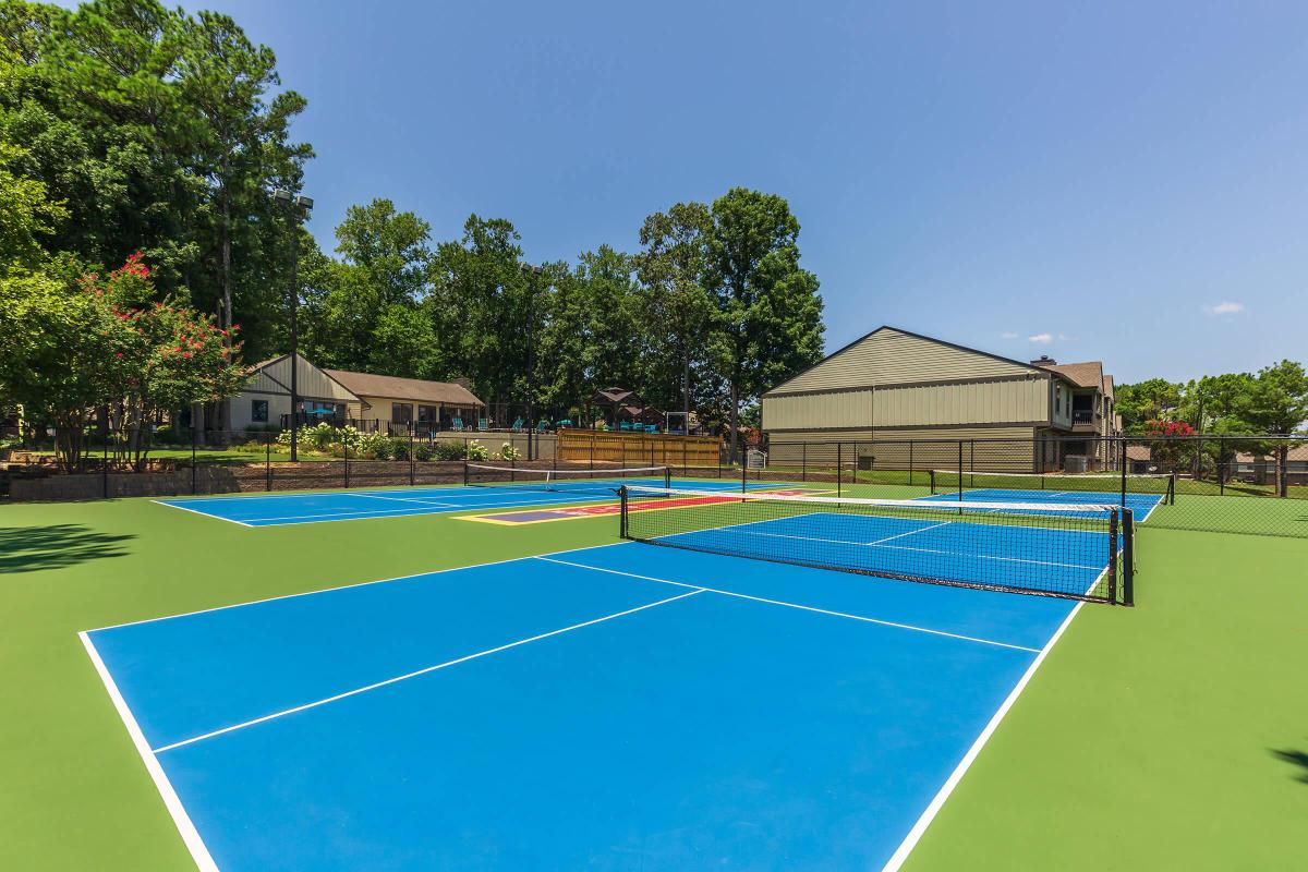 Tennis Anyone? Madison Landing at Research Park Apartments in Madison, AL