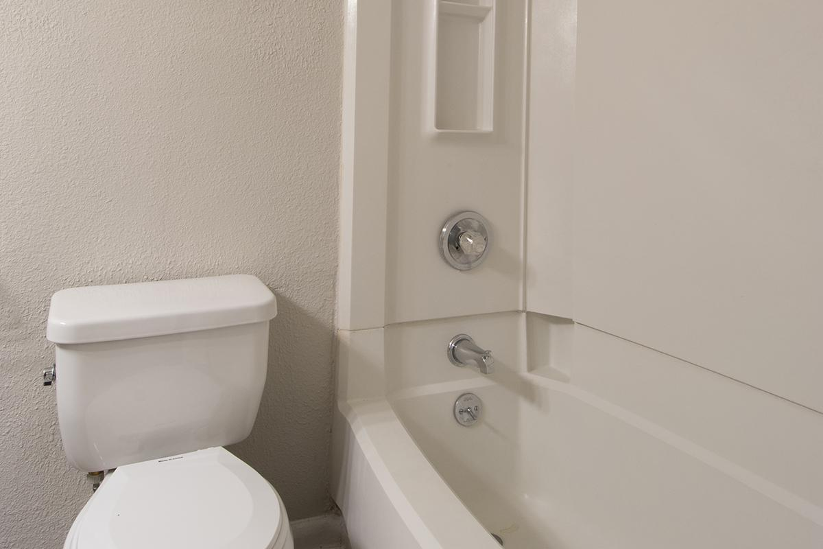 Bath Tub and Shower at Madison Landing at Research Park Apartments in Madison, AL