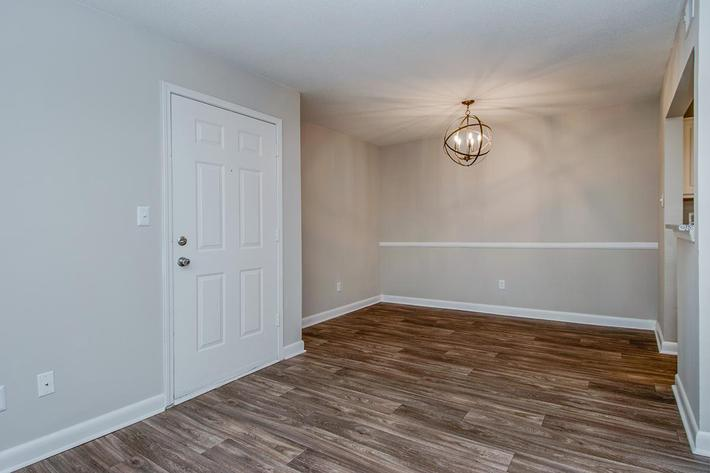 Hardwood Floors in Ansley B at Madison Landing at Research Park Apartments in Madison, AL