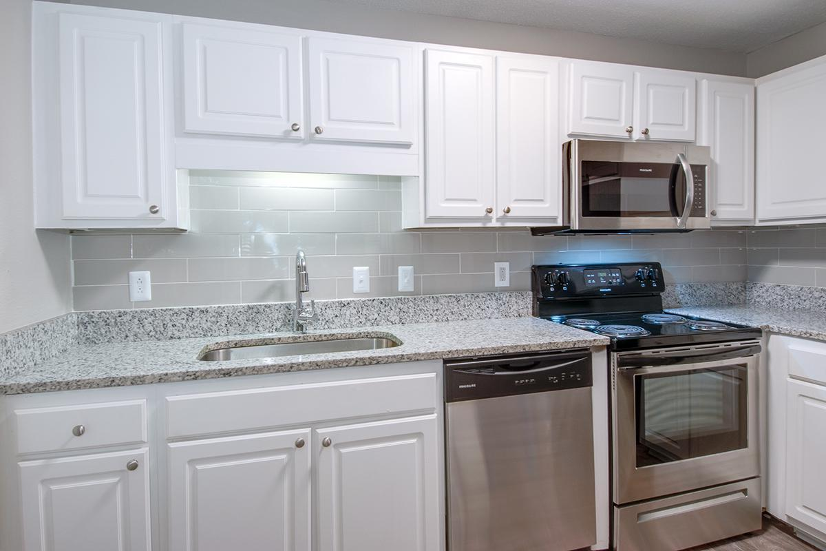 Bentley Kitchen at Madison Landing at Research Park Apartments in Madison, AL