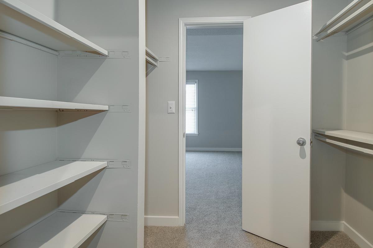 WALK-IN CLOSET OF ONE BEDROOM