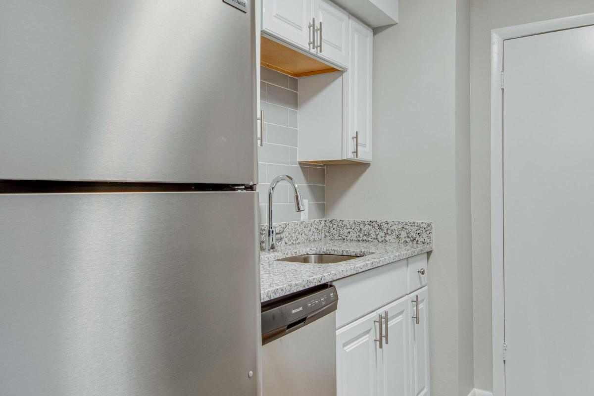 New Kitchen at Madison Landing at Research Park Apartments