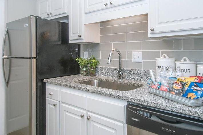 Tile Backsplash in Kitchen