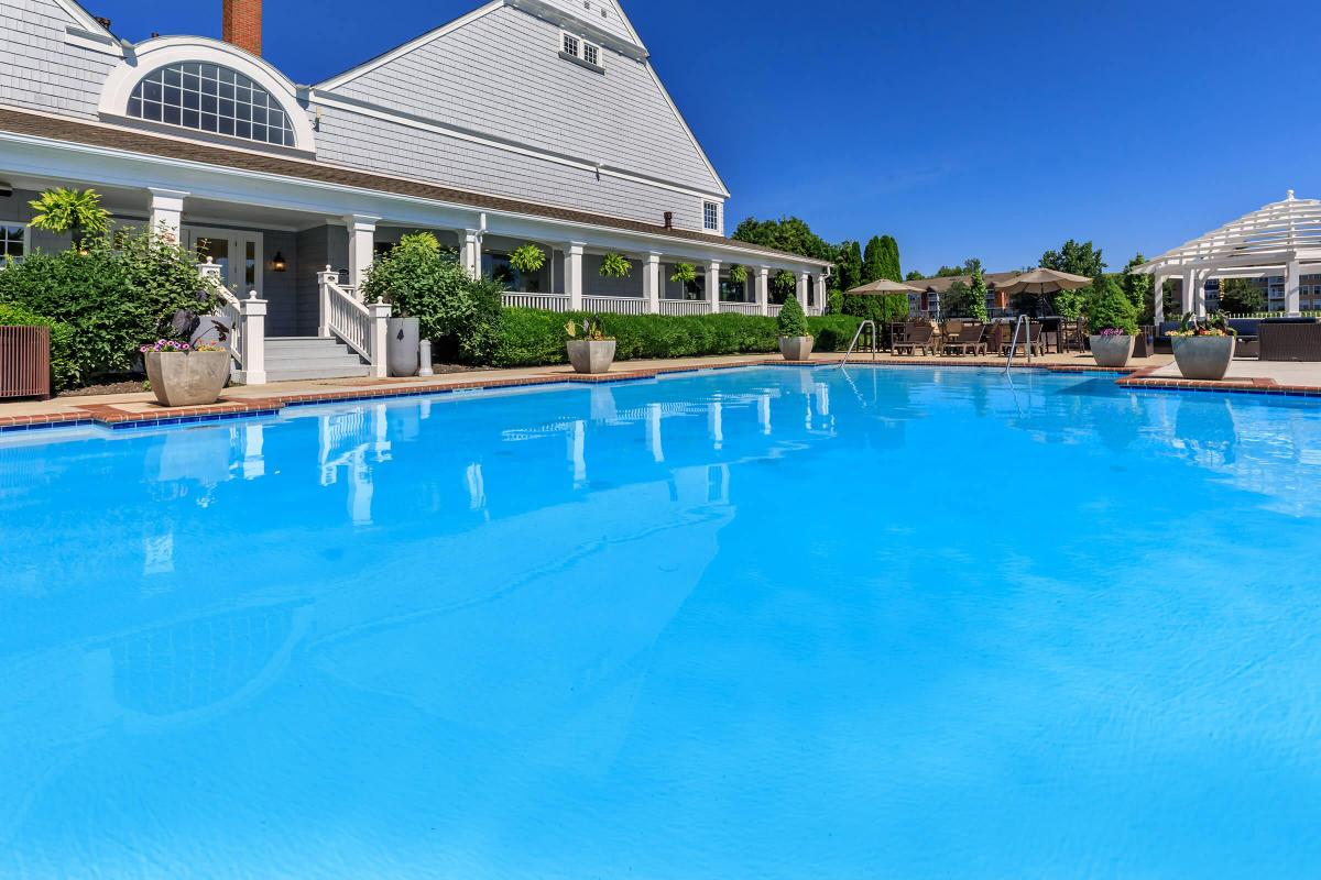 THE POOL AT THE QUARRY LUXURY APARTMENTS
