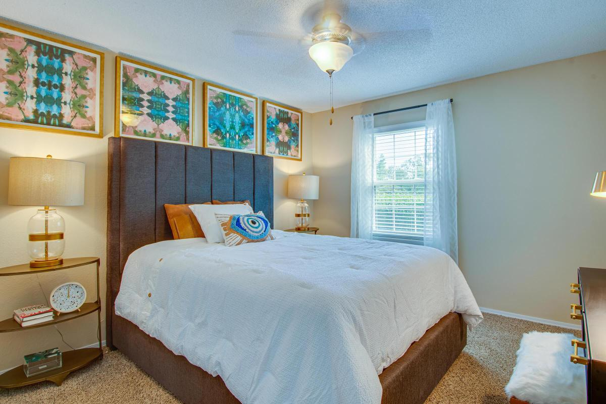 Bedroom At South Wind Apartment Homes in Franklin, TN