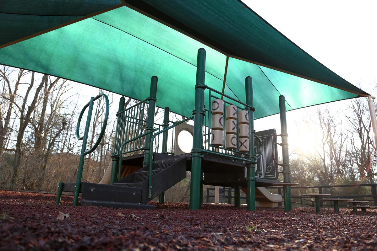 Covered play area in Franklin, TN