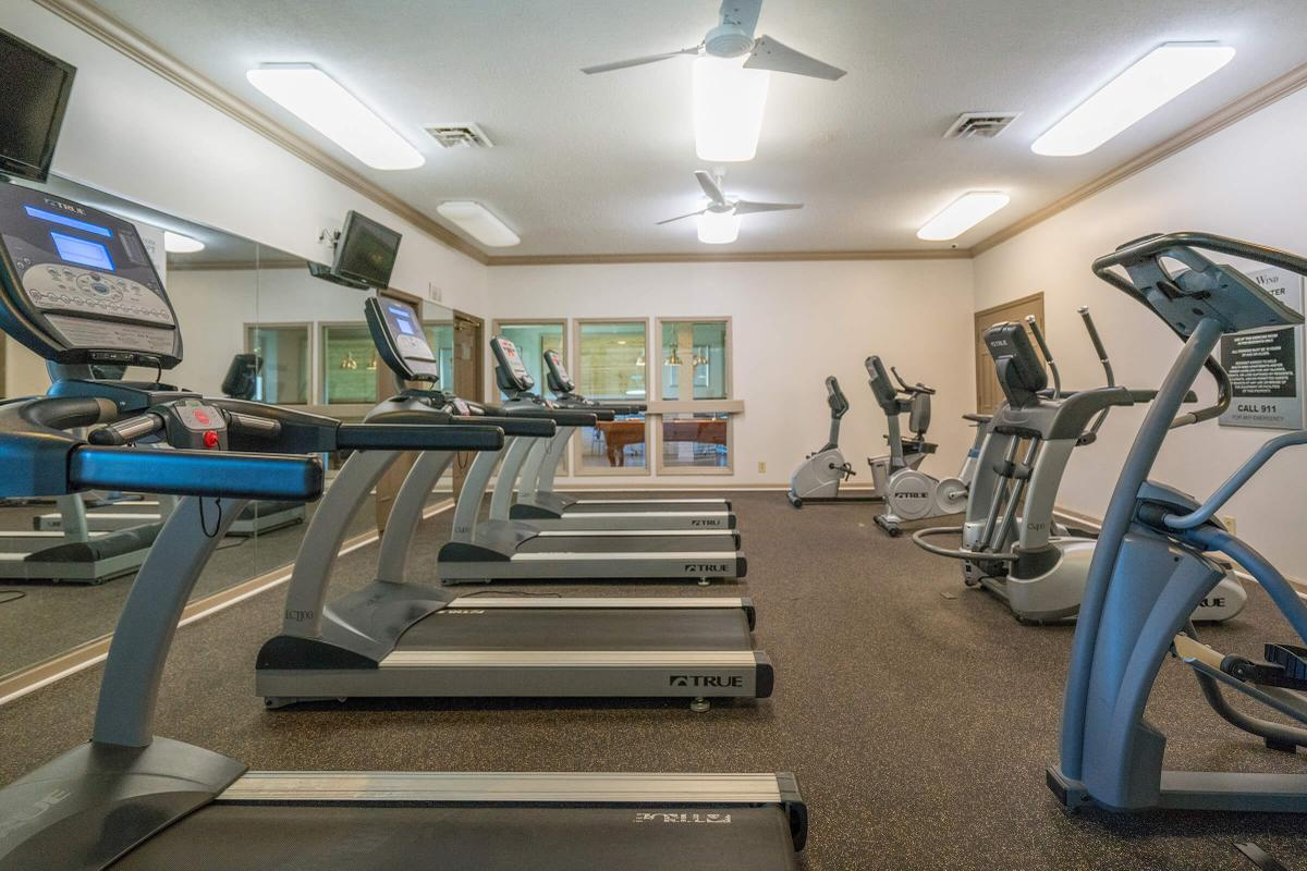 Get In Shape at Our Cardio Room