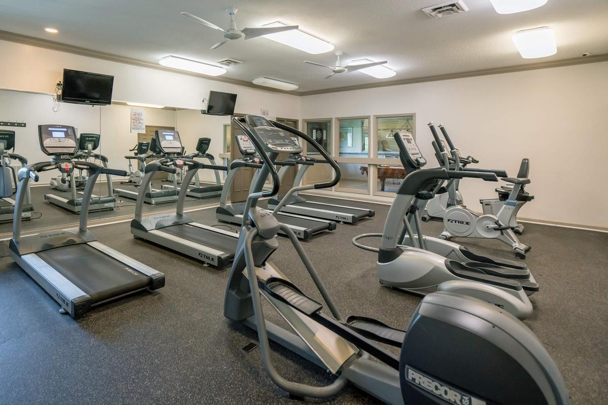 Great Fitness Center at South Wind Apartment Homes