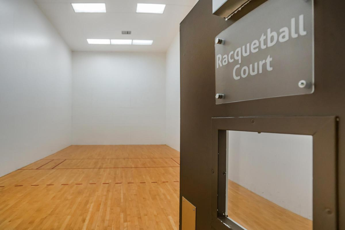 Indoor Racquetball Court at South Wind
