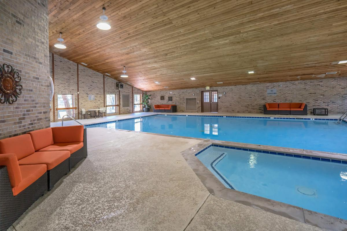 Indoor Salt Water Pool at South Wind Apartment Homes