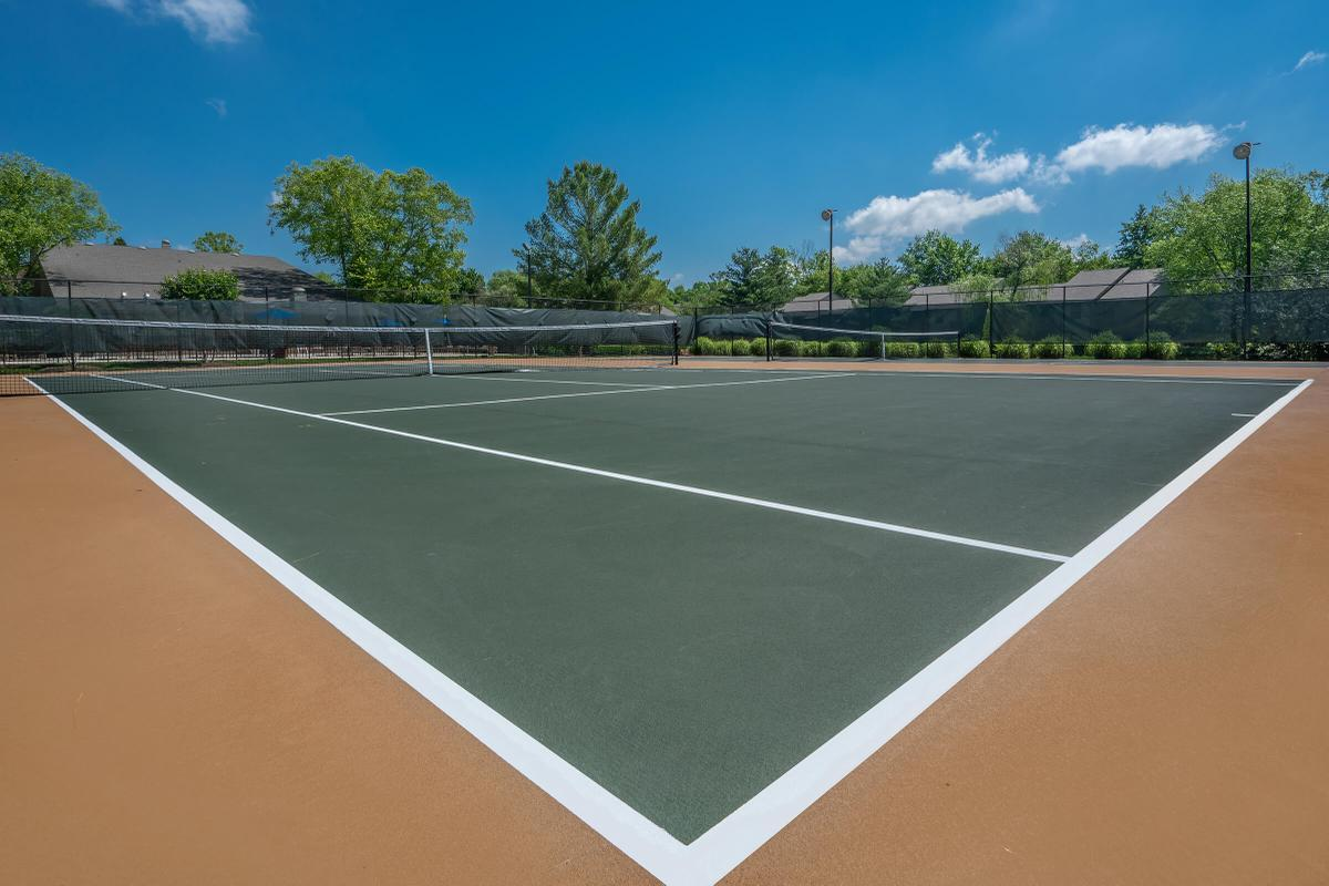 Tennis Court at South Wind Apartment Homes