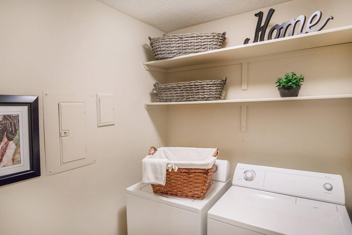 Large Laundry Area in-home at South Wind Apartment Homes in Franklin, Tennessee