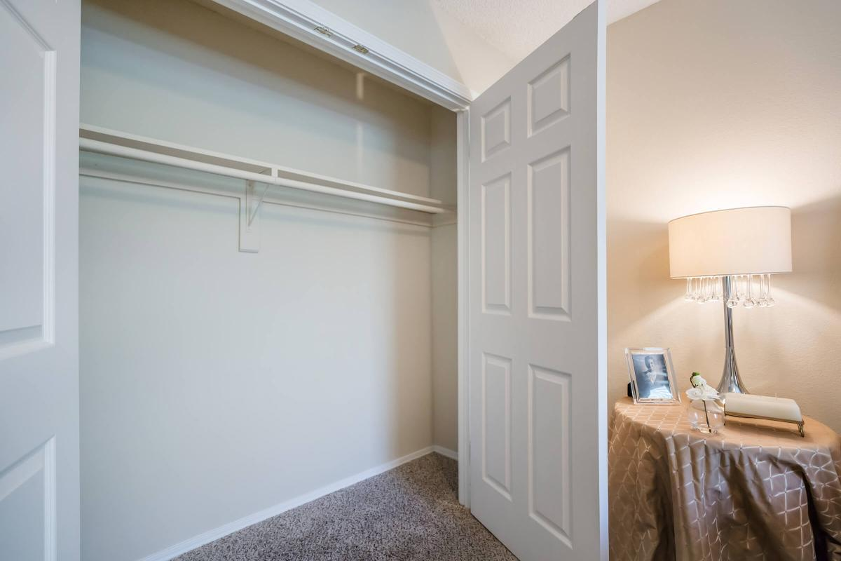 Spacious Closets at South Wind Apartment Homes