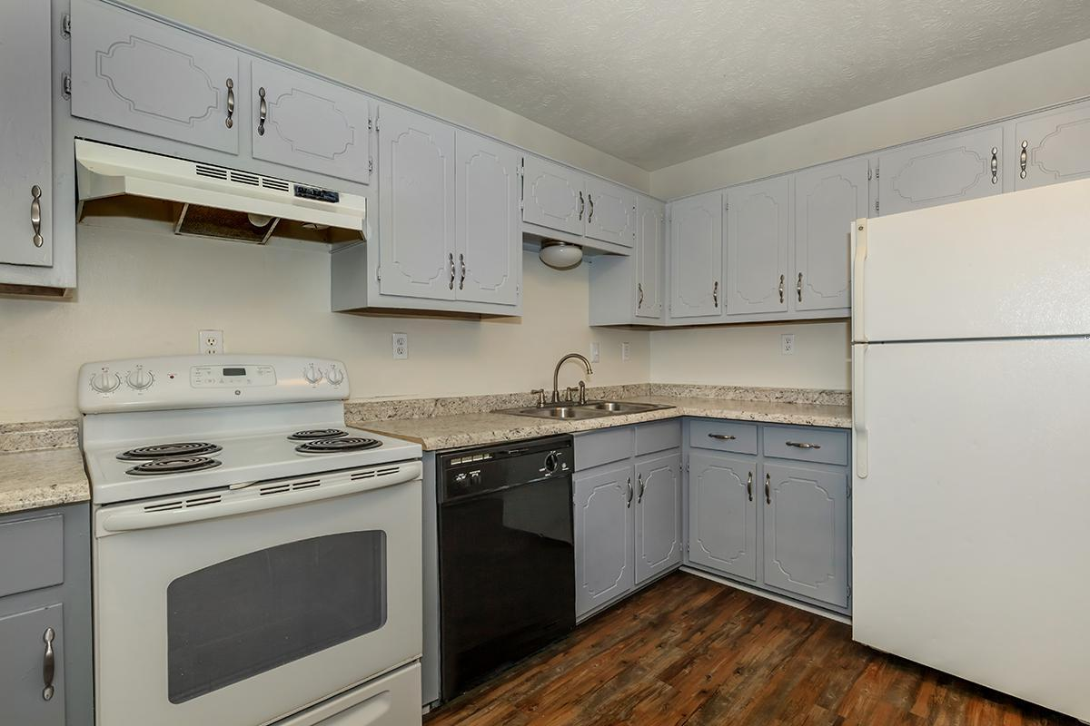 ALL-ELECTRIC KITCHEN AT UNIVERSITY VILLAGE AT WALKER ROAD IN JACKSON, TENNESSEE
