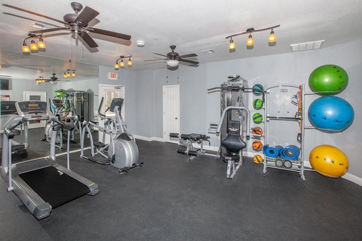 STATE-OF-THE-ART FITNESS CENTER AT SAN MICHELE IN LAS VEGAS, NEVADA