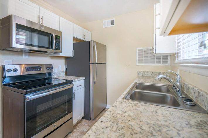 Stainless Steel Appliances at The Mills Midtown