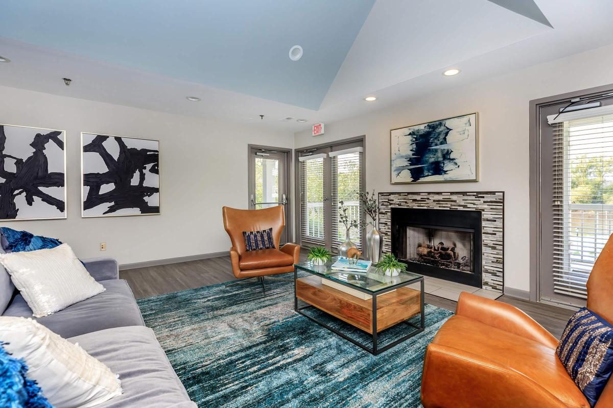 GAS FIREPLACES AT ARBOR LANDINGS APARTMENTS